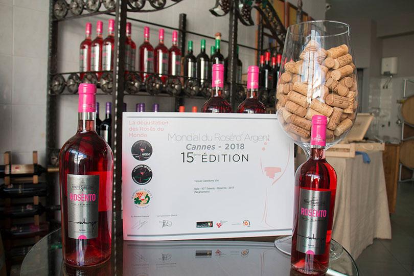 Prijswinnende Rose wijn Tenute Gabellone