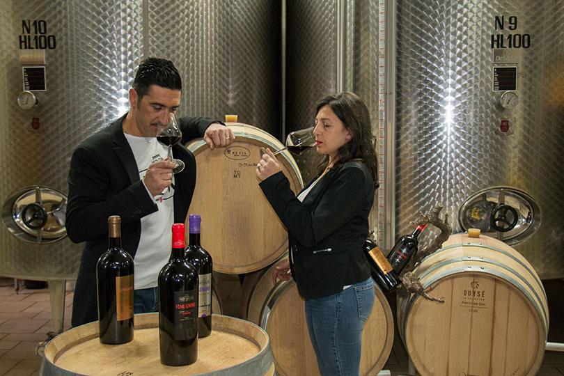 wijnproeven Tenute Gabellone