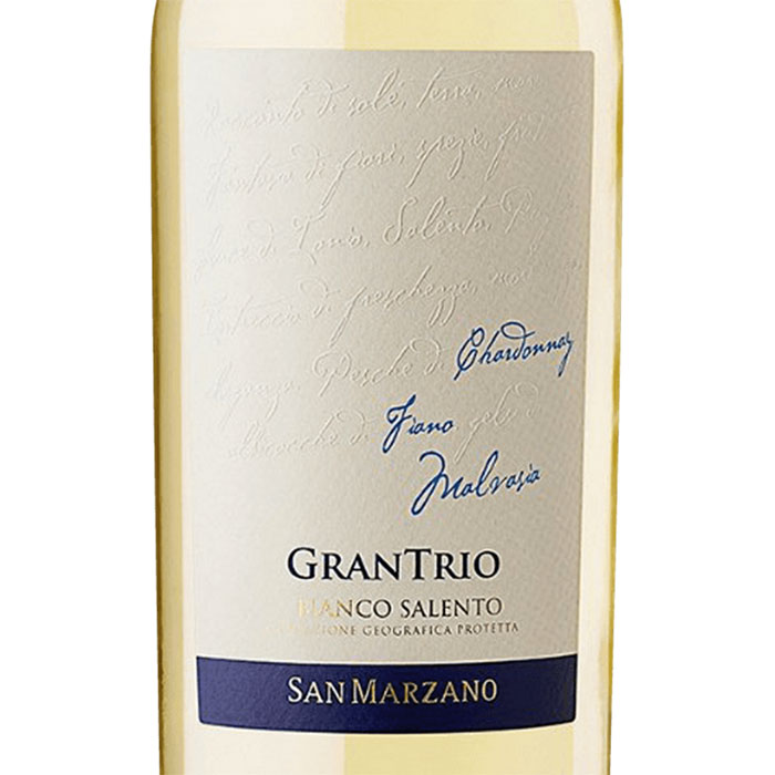 Etiket Salento IGP Gran Trio Bianco – 2019 MARZ10519_2