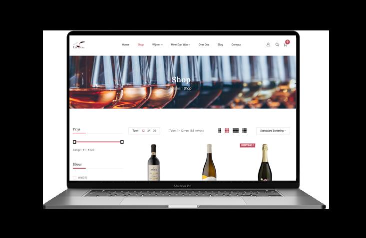 Blue Pixl Media & Uva D'Oro: Wijnhandelaar van Italiaanse wijnen.